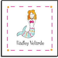 Mermaid Label