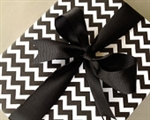 Black Chevron Wrapping Paper