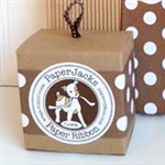 Brown Dots Paper Ribbon