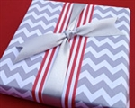 Gray Chevron Wrapping Paper
