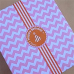Pink Chevron Wrapping Paper