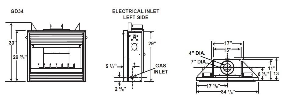 Napolean Fireplace Gas Valve Wiring Schematic on