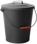 Uniflame Black Ash Bin with Lid