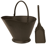 Uniflame Bronze Finish Coal Hod and Shovel