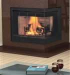 Vantage Hearth Corner Wood Fireplace