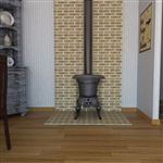 Vogelzang Cast Iron Rancher Wood Stove