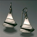 Sterling Silver Earrings (153T.s)