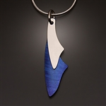 Sterling Silver and Niobium Pendant (401S.sn)