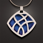 Sterling Silver and Niobium Pendant (416S.sn)