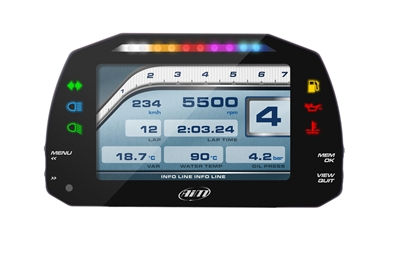 "AiM Sports MXS 5"" TFT Strada Color Display"