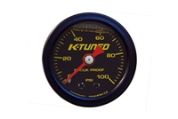 Fuel Pressure Gauge, Liquid Filled (0-100 psi)