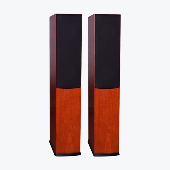 JELLY Dark Cherry Tall Speakers