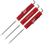 Reversible Blade Super Tri-Ad Pocket Screwdriver with Clip