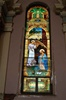 Tiffany Studios style 100 yr. old Stained Glass Window #4