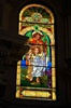 Guardian Angel w/ Christ Child Stained Glass Window