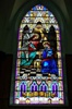 "Large"" The Annunciation"", Plated Stained Glass Window"