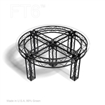 CONTEMPORARY TRUSS TABLE 66 IN ROUND BY 30 IN HIGH