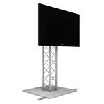 4FT TK8 ALUMINUM TRUSS MONITOR STAND WITH MONITOR MOUNT