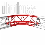 90 DEGREE TURN UPPER/LOWER VERTEX 5 INCH TRIANGLE TRUSS