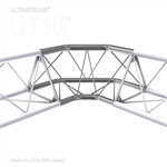 90 DEGREE TURN UPPER/LOWER VERTEX 10 INCH TRIANGLE TRUSS