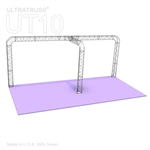 Emma - 10 Ft X 20 Ft Triangle Truss Booth