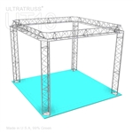 Mia - 10 Ft X 10 Ft Triangle Truss Booth