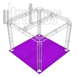 Marie -10 ft x10 ft triangle truss booth