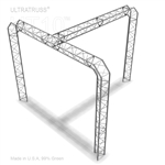 Chloe - 10 Ft X 10 Ft Triangle Truss Booth