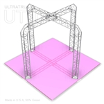 Lily - 10 Ft X 10 Ft Triangle Truss Booth