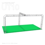 Zoey - 20Ft X 10 Ft Triangle Truss Booth