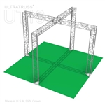 Zoe - 12 Ft X 12 Ft Triangle Truss Booth
