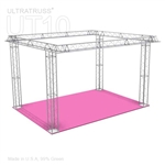 Layla - 20 Ft X 20 Ft Triangle Truss Booth