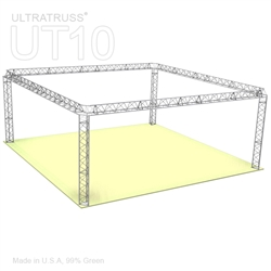 Anna - 20 Ft X 20 Ft Triangle Truss Booth