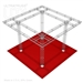 Angie - 20 Ft X 20 Ft Triangle Truss Booth