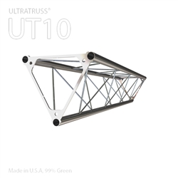STRAIGHT 4 FOOT TRIANGLE 10 IN ALUMINUM TRUSS