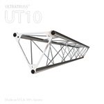 STRAIGHT 6 FOOT TRIANGLE 10 IN ALUMINUM TRUSS