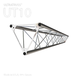 STRAIGHT 8 FOOT TRIANGLE 10 IN ALUMINUM TRUSS