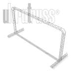 ALLOUT - 22FT X 11FT X 8FT DEEP ALUMINUM ULTRATRUSS TRIANGLE TRUSS ARCH