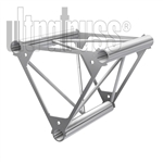 STRAIGHT 1 FOOT TRIANGLE 12 INCH ALUMINUM TRUSS