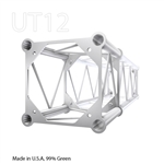 STRAIGHT 1 FOOT BOX 12 INCH ALUMINUM TRUSS