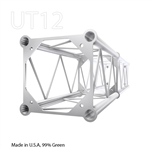 STRAIGHT 2 FOOT BOX 12 INCH ALUMINUM TRUSS