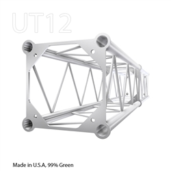 STRAIGHT 3 FOOT BOX 12 INCH ALUMINUM TRUSS