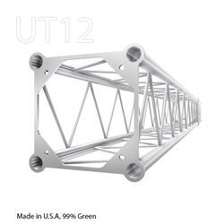 STRAIGHT 8 FOOT BOX 12 INCH ALUMINUM TRUSS
