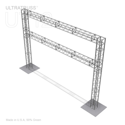 20FT X 14FT ALUMINUM ULTRATRUSS 12'' BOX TRUSS ARCH