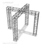 BETTY - 10FT X 10FT X 8FT ALUMINUM ULTRATRUSS 12'' BOX TRUSS