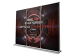 9ft ROLLO Diamond Double Sided Banner Wall Kit