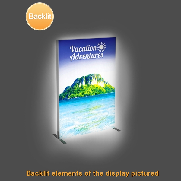 Tension Fabric Displays: Vector Frame Fabric Light Boxes - 3 ...