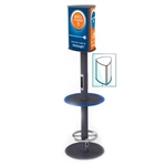 Power Pole 4 device Mobile Charging Kiosk