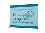10ft Waveline Straight Tension Fabric Display