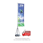 Mondo OUTDOOR Rectangle Banner Flag Stand